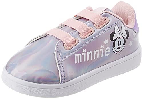 CERDÁ LIFE'S LITTLE MOMENTS Cerdá-Zapatillas Iridiscentes de Minnie Mouse de Color Rosa, Niñas