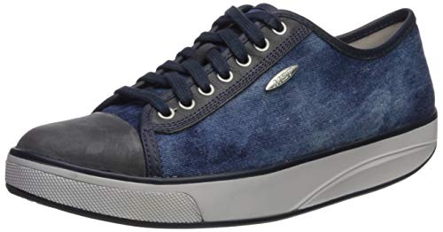 MBT Women's Jambo (LE) Athletic Walking Shoe (36 EU / 5-5.5 M US, Denim Blue/Stone Washed Navy)