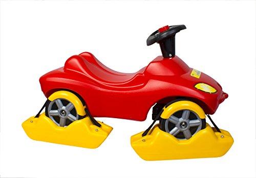 Wader Quality Toys Kufen 4 Stück für Rutschfahrzeuge