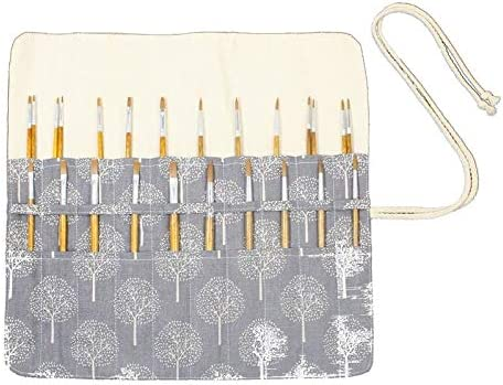 YINGGEXU Pen Pencil Holder High order 20 Holes 15 Paint 100% quality warranty Artist Inches Brush