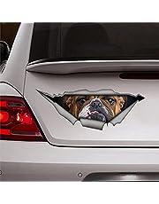 Bulldog Sticker Auto Decal Pet Sticker Hond Decal Bulldog Decal Stickers Auto Decal Window Decal Vinyl Decal Die Cut Decals Grappige Stickers Bumper Stickers aanwezig