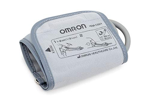 OMRON Manguito pequeño 9515373-3 para monitores de presión arterial de brazo OMRON, 17-22cm