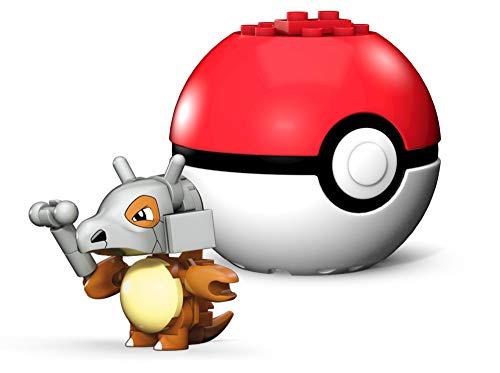 Mega Construx Pokemon Cubone Poke Ball, Multicolor