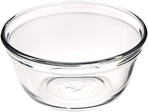 Anchor Hocking 81573 1 Litre Glass Mixing Bowl Batter Bowl Toughened Glass