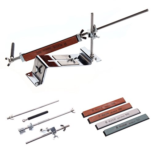 MultiWare Messerschleifer Küche Messerschärfer mit 4 Schleifstein System