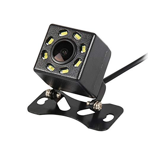 Auto Rückfahrkamera LCW-Direct 170 Grad Weitwinkelobjektiv Kamera IP68 Wasserdicht Nachtsicht für Rückfahrhilfe&Einparkhilfe ideal Mini Rückfahrkamera für Anhänger Neu (Model 3-8st LED Lichter)