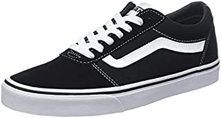 Vans Men's Ward Suede Canvas Trainers, Black