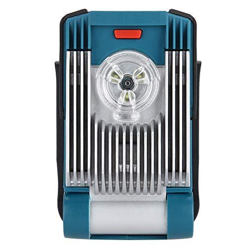 Torcia di Illuminazione, Illuminazione di Avvertimento a LED Alternativa 14,4/18 V per Makita DML805 con Fascio Regolabile e 6 Angoli di Illuminazione impostabili, Verde