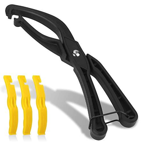 TAGVO Palanca para neumático de Bicicleta, Herramientas de reparación de neumático para Bicicletas Herramienta de reparación de Bicicletas Bicicletas de Carretera Bicicleta de montaña