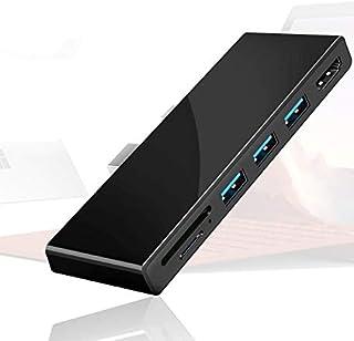 محطة توصيل سيركيت سيرفس برو 4، اقرأ بطاقة SD/مايكرو إس دي، موزع USB لـ سيرفس برو 4 مع 4K HDMI ، USB 3.0 × 3. محول يو إس بي...