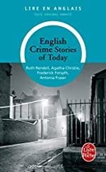 English crime stories of today d'Antonia Fraser