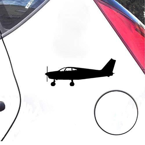 Lege Grappige autostickers 17,5 cm*7 cm Cartoon Kinderen Gevoel Handig Passagier Vliegtuig Originele Vinyl Auto Sticker Specifieke Sticker 4 stks Auto stickers