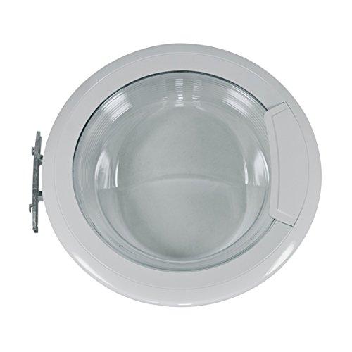 Whirlpool Bauknecht 481010604375 ORIGINAL Tür Bullauge Fenster mit Türaußenring Frontglasscheibe Türinnenring Türgriff Scharnier Waschmaschine auch Privileg Indesit C00443216