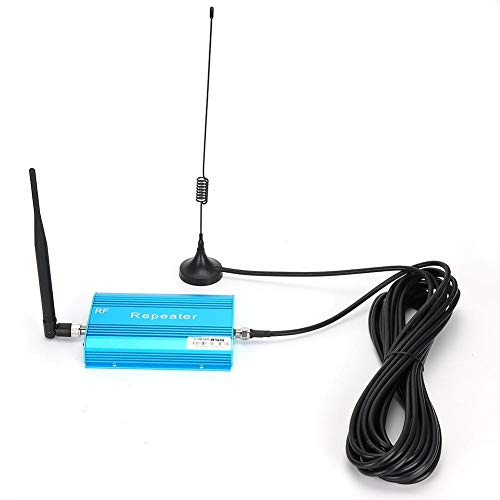 Garsent Amplificador de teléfono móvil de 900MHz, Amplificador de señal de teléfono Celular con impedancia de 50Ω/N para Conector F-Hembra (110-240V)(EU)