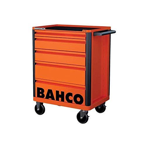 Werkstattwagen 5 Schubladen orange RAL 2009