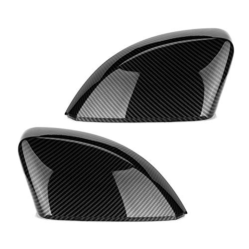 KJGHJ 2 piezas para espejo retrovisor para coche, para Audi A3 S3 8V RS3, cubierta para espejo lateral de puerta