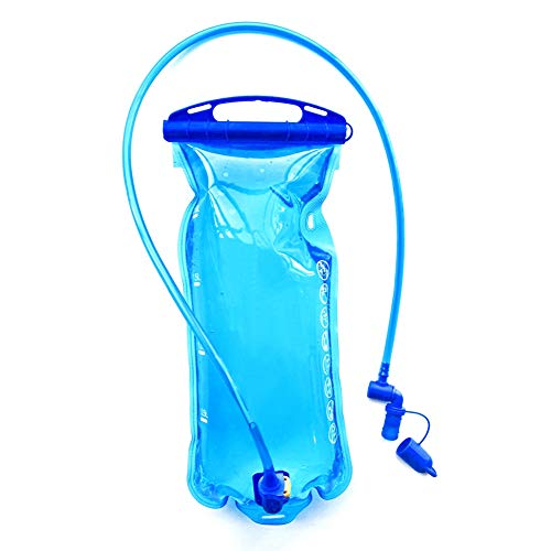 Nrpfell Bolsa de Almacenamiento de Paquete de HidratacióN de Vejiga de Agua con DepóSito de Agua de 2L - Mochila con Chaleco de HidratacióN para Correr