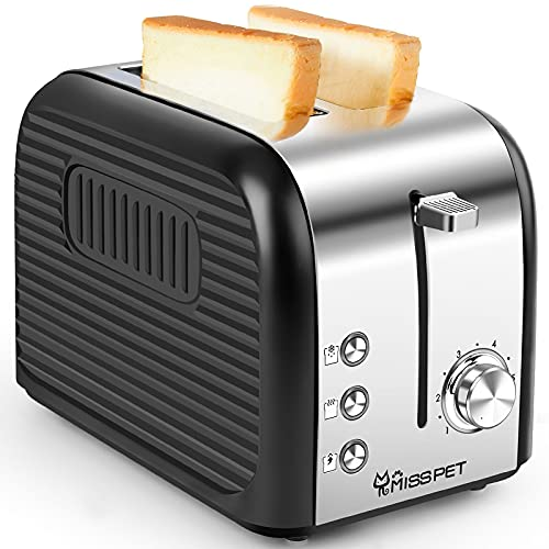 ALES 2 Slice Toaster w/Reheat/Defrost/Cancel Function Only $17.49 (Retail $34.99)