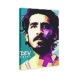 TANGJIANG Dev Patel Schauspieler-Poster, dekoratives