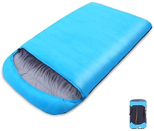 sleeping bag Portable Durable and lightweight, standard temperature, nylon fabric, waterproof, wear-resistant, large double couple travel