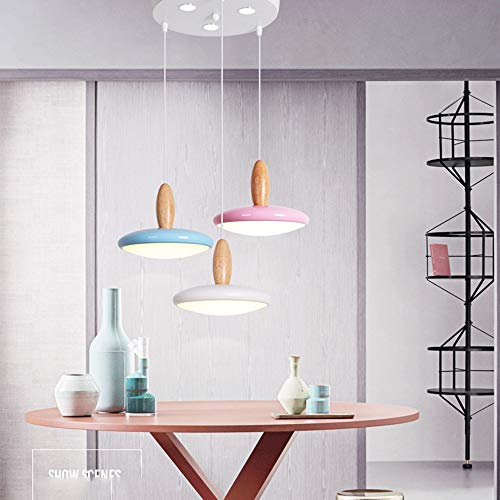 KK Gabby DIY Acrílico Moderno Minimalista Restaurante Lámpara Araña Tres Lámparas Nórdicas Personalidad Creativa Cafe Bar Lámpara De Mesa