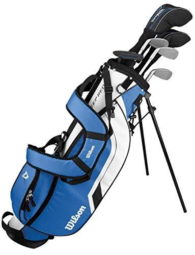 WILSON ProStaff Deep Red Premium Kinder Junior Golfset 8-11 Jahre