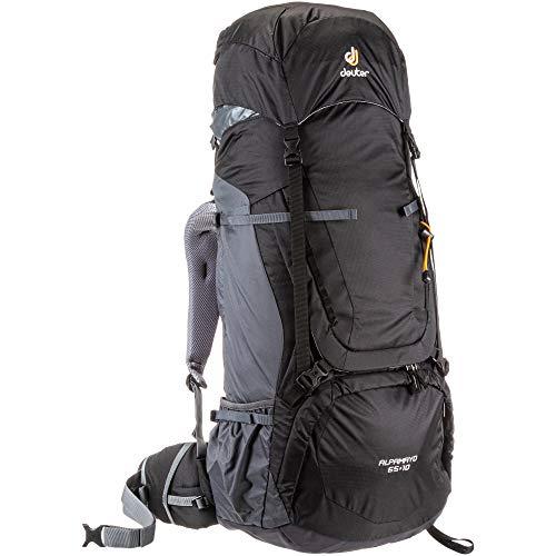 deuter Alpamayo 65 + 10 Trekkingrucksack schwarz Einheitsgröße
