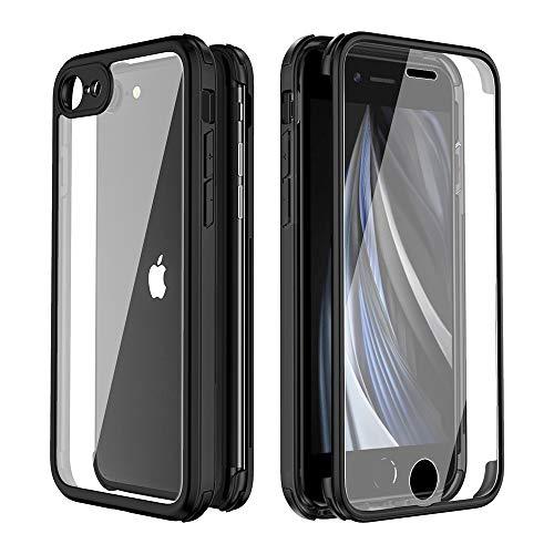 Valenta Cubierta completa de cristal templado para iPhone SE 2020/8/7   Vidrio...