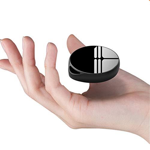 LYB 16/32GB Grabadora de Voz Espia Mini, Grabadora de Voz Llavero, Grabadora de Audio de Cinta Portátil de Gran Capacidad con Una Tecla, para Conferencias, Reuniones, Entrevistas, Carga USB 2.0