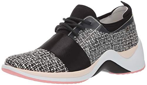 Price comparison product image Anne Klein AK Sport Women's THEDADDY Sneaker,  Black / Multi,  8.5 M US