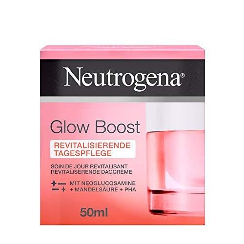 Neutrogena Glow Boost Revitalisierende Tagespflege, erfrischende Tagescreme mit Neoglucosamine,...