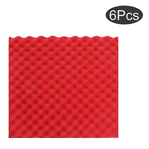 TOPINCN akoestische plaat Studio Foam Chock Tiles vlamvertragend piramidevormig voor geluidsreductie akoestische elementen