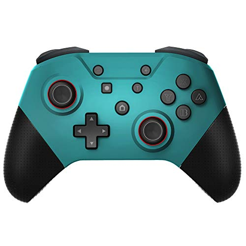 Controlador sem fio para Nintendo Switch/Lite, joystick de controle remoto para controles sem fio Pro recarregáveis, suporta controle de movimento, eixo giratório, turbo e vibração dupla
