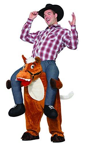 Forum Men's Horse Back Ride-on Deluxe Costume, Brown, STD