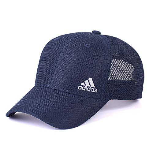 アディダス(adidas) ビックサイズ 機能素材 帽子 キャップ 大きいサイズ ゴルフ メッシュキャップ スポーツ アスリート (71 ネイビー)