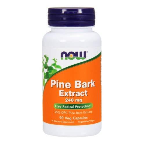 NOW Foods Pine Bark Extract 240 mg - 90 Veg Capsules