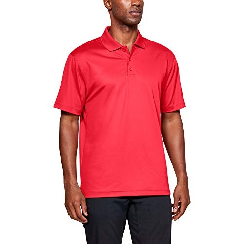 Under Armour Men's Tactical Performance Polo, Red/Red, XX-Large