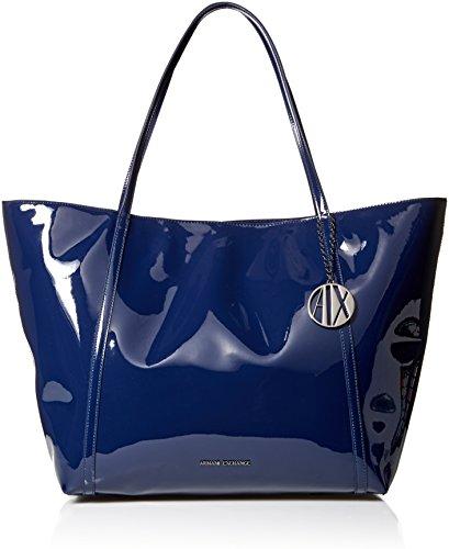 Armani Exchange Einkaufstasche, groß, Lackierung, (37735), Einheitsgröße