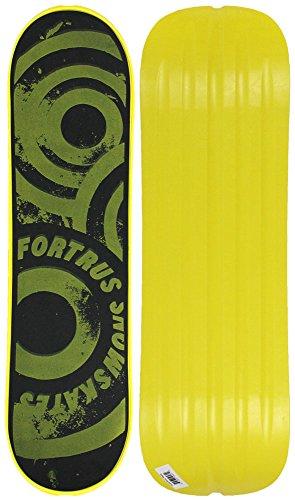 Fortrus Sonic Snow Skate Snowboard Deck, Yellow, 35'