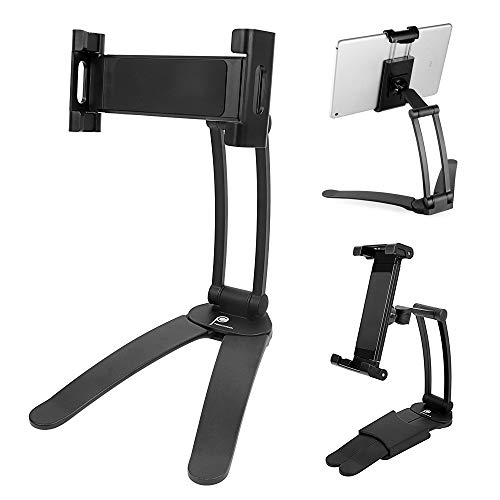 Tablet Stand for Kitchen, ProChosen tablet Holder for iPad Air, iPad Mini, iPad(2nd-4th generation) Kindle Fire, Nexus, Galaxy and other tablets between 4 -12.9inches wide