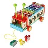 lahomia Juguetes Musicales de Xilófono para Niños Instrumentos de Mano Piano Regalo Educativo