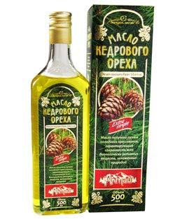 Aceite de nuez de cedro, prensado en frío, procedente de Altai en Siberia, 500 ml