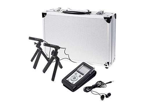 Olympus DM-720 Diktiergerät Konferenz-Kit (4 GB Speicher, USB Direct, inkl.Ni-MH Akku)