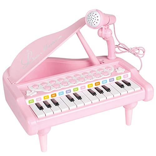 AAFF 1Set Säuglingsspiel Educational Elektronisches Klavier, Spielzeug Keyboard Junge Mädchen Finger Kinder Schlüssel Geschenk Jungen Mädchen Kleinkinder Spielzeug,C