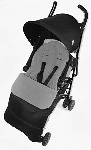 Fußsack/COSY TOES kompatibel mit Kiddy City N Move Kinderwagen Dolphin grau