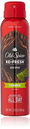 Old Spice Re Fresh Body Spray - Fresher Collection 3.75 OZ (Pack of 2)