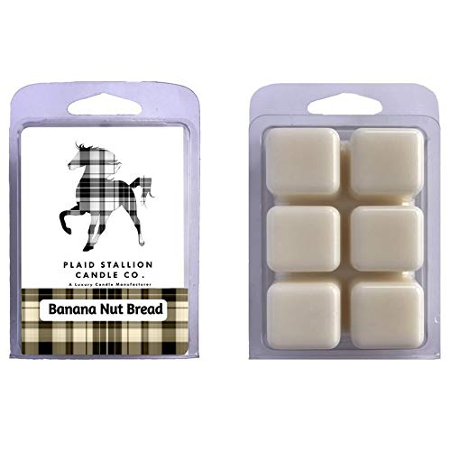 Banana Nut Bread Scent - Long Lasting Highly Scented Wax Melts, Many Scents to Choose from