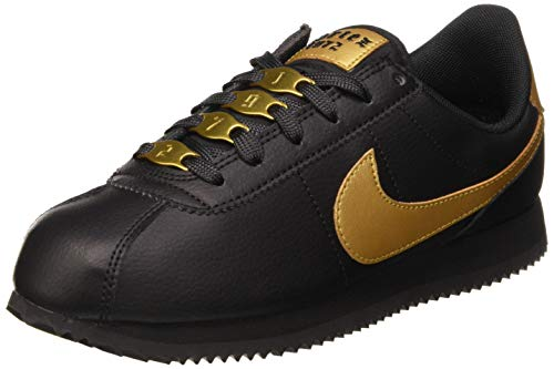 Nike Cortez Basic SL Vtf, Scarpe da Trail Running Donna, Nero (Black/Metallic Gold 1), 36.5 EU