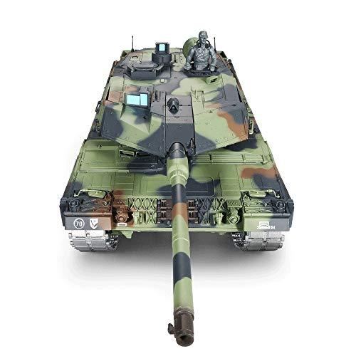1:16 German Leopard 2A6 Lanzamiento del tanque de control remoto BB Bullet...