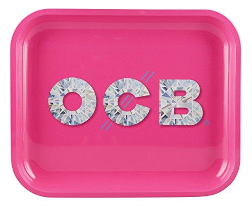 OCB Metal Rolling Tray Diamond (Large)